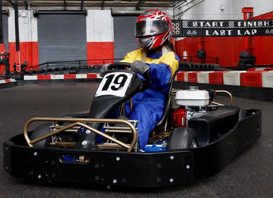 go-karting in gloucester